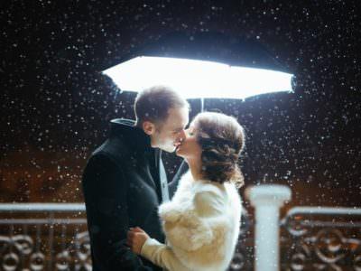 Zimowy ślub Oli i Kuby