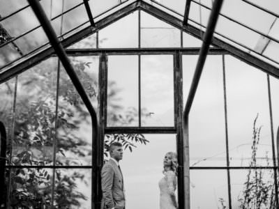 Sesja ślubna w szklarni - Dominika i Kamil