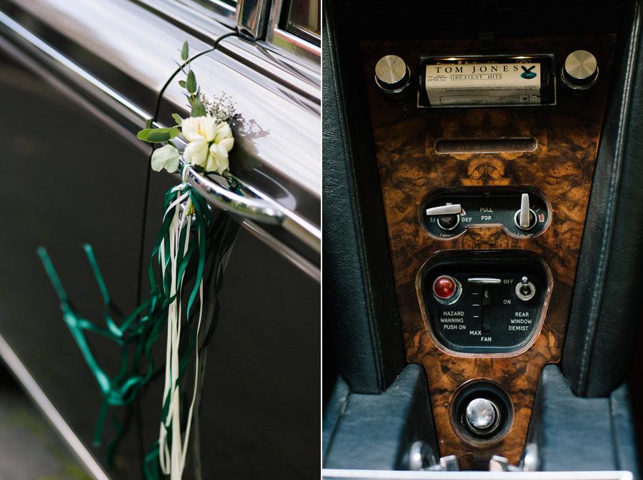 rolls royce samochód do ślubu
