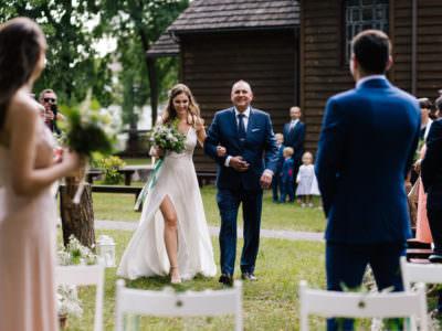 Ślub kościelny w plenerze - Gosia i Paweł - Hotel Duo Spa