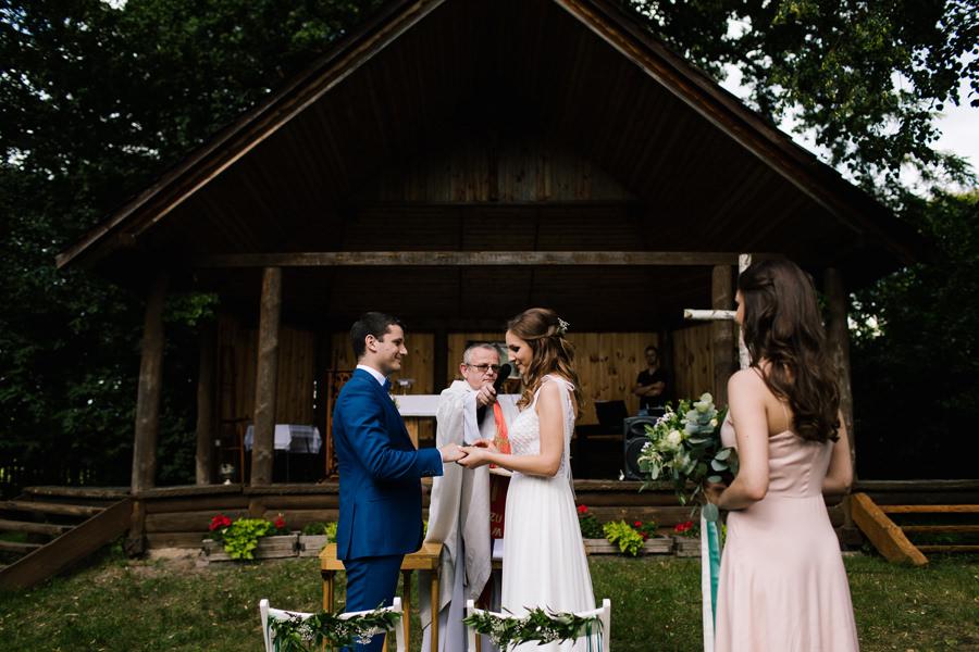 ślub kościelny w plenerze hotel duo spa janów lubelski