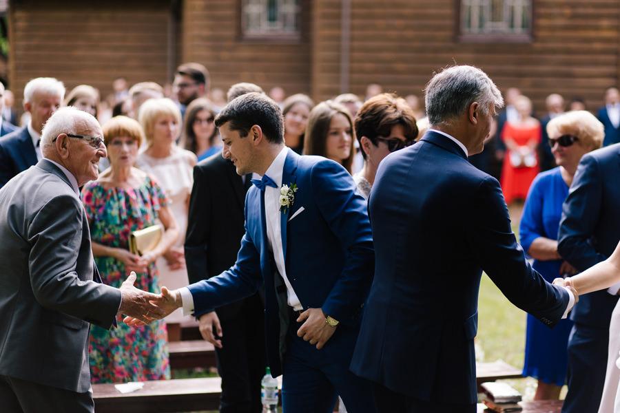 ceremonia ślubna w plenerze hotel duo spa janów lubelski