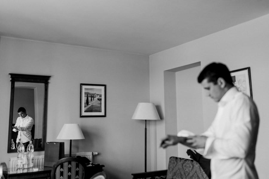 przygotowania pan młody hotel Duo Spa Janów Lubelski