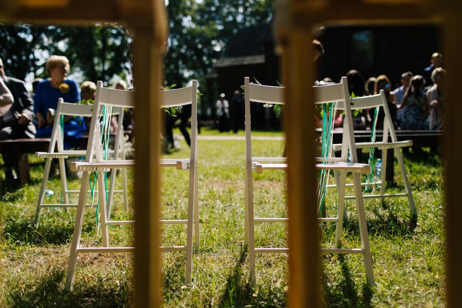 plenerowy ślub kościelny JAnów lubelski