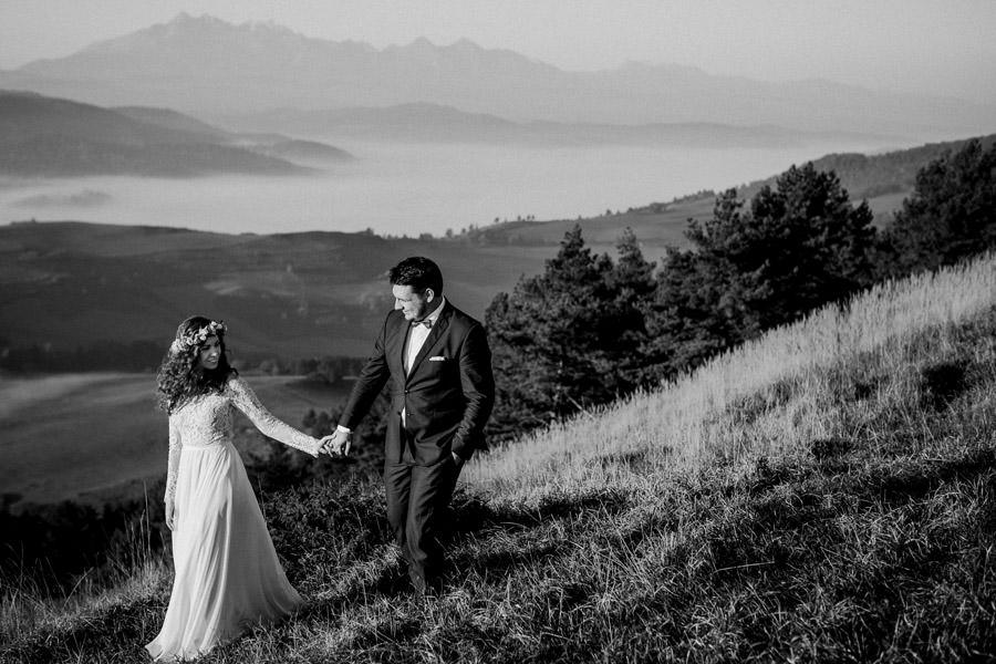 sesja poślubna Tatry, sesja w Tatrach, sesja w Pieninach