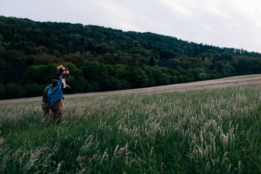 spacer w górach, sesja w górach