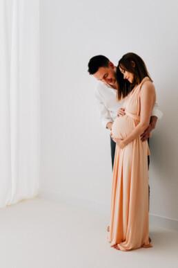 w co ubrać się na sesję ciążową, sesja ciążowa Jasło, fotograf Jasło