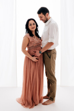 w co ubrać się na sesję ciążową, sesja ciążowa na Podkarpaciu