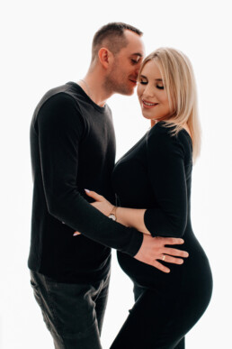sesja ciążowa z mężem, sesja nowy sącz